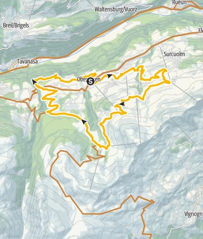 Karte / Auf Jankas Spuren