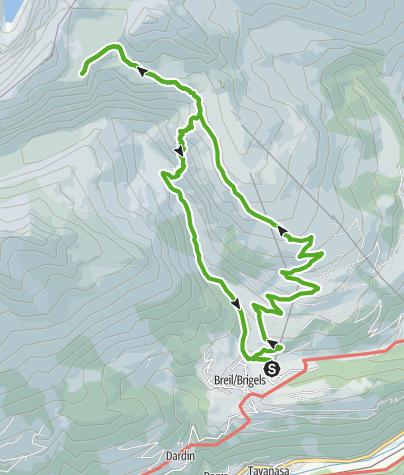 Karte / Die Bifertenhütte mit der Steinbock-Kolonie