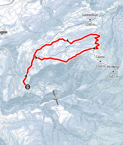 Map / Rundtour Riein