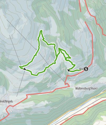 Karte / Alp Dado Sut & Bergrestaurant Burleun