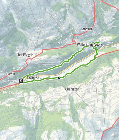 Map / Casti Grotta - Ognas da Pardiala