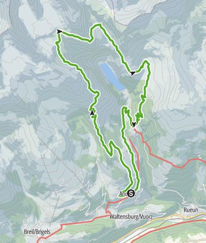Karte / Gletschervorfeld Gavirolas