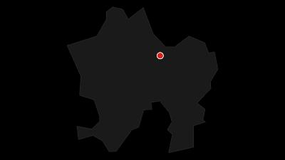 Karte / Rheinschlucht/Ruinaulta: Ilanz - Reichenau