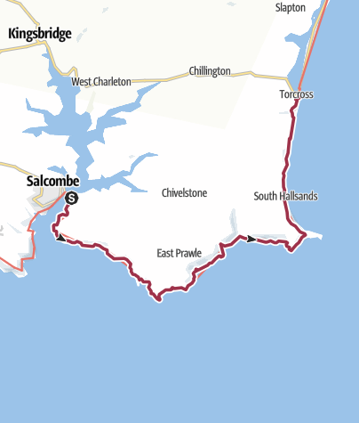 Map / Salcombe to Torcross