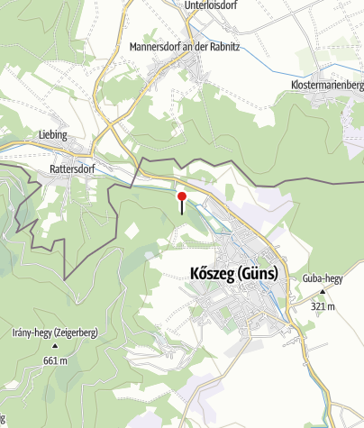 Karte / Trianoni-kereszt (Kőszeg)
