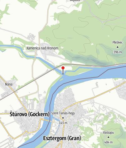 Map / A Garam torkolat szigetei