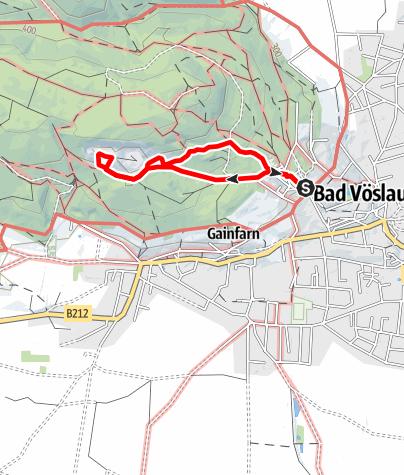 Karte / Steinbruch Runde