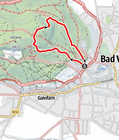 Karte / Harzberg Runde