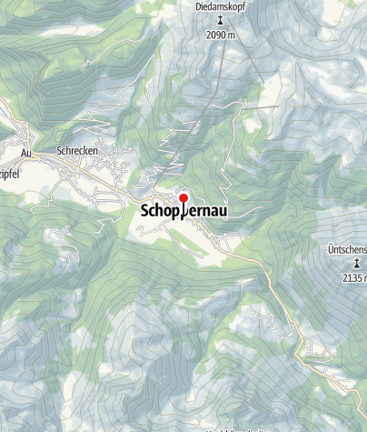 Karte / Franz Michael Felder Museum/Tourismusbüro