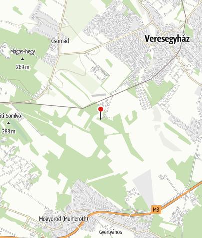 Karte / Veresegyházi Medveotthon