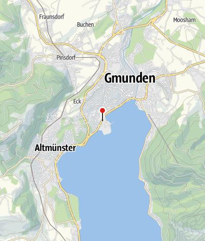 Karte / BewegungsVarena Gmunden - Toscana