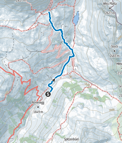 Karte / Sulzfluh (Rätikon Ost)