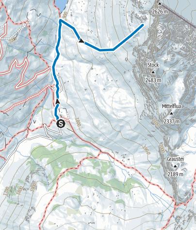Karte / Schijenfluh, Schijenzahn (Rätikon Ost)