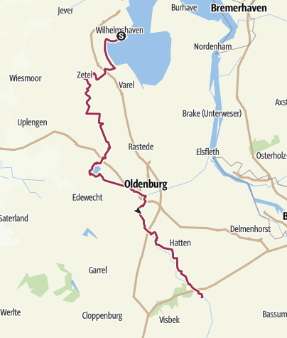 Karte / Jadeweg