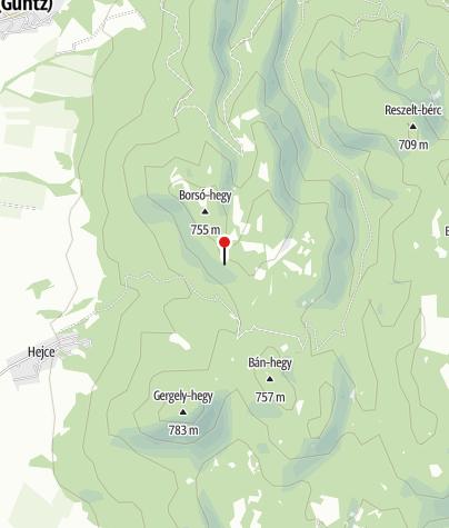 Térkép / Sólyom-kő