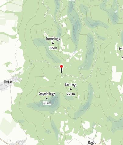 Térkép / Fehér-kúti vadászház, pihenőhely
