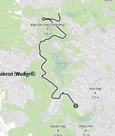Mapa / Gyermekvasút – Detská železnica