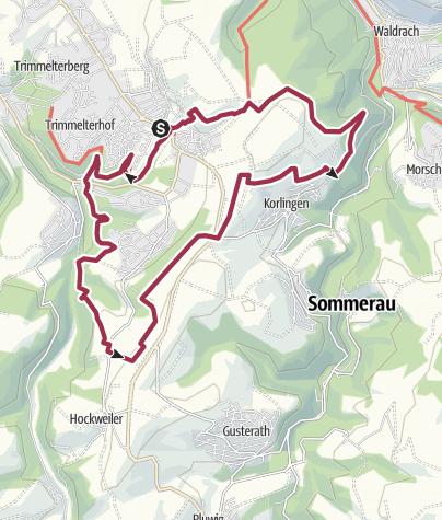 Karte / Basislager Trier (Traumschleife Trierer Galgenkopftour)