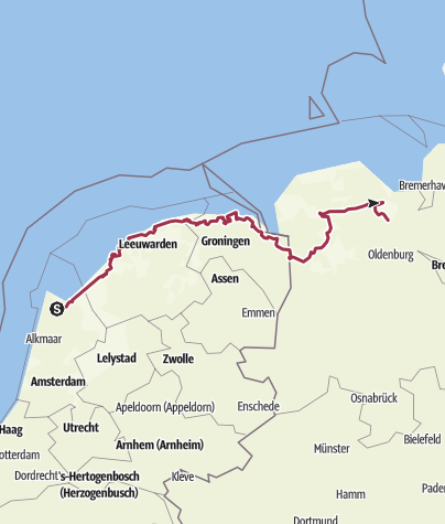 Map / Watten-Route