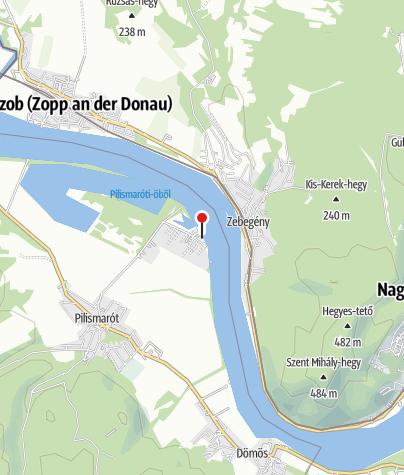 Térkép / Dunapart Camping (Pilismarót)