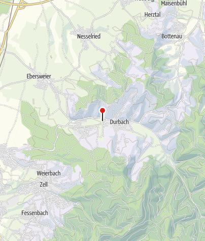 Karte / Parkplatz Durbach Festplatz