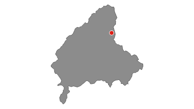Cartina / Panorama dal fronte: Passo Trat - Cima Parì