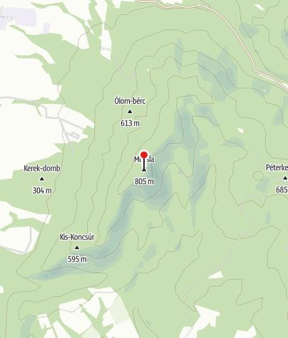Térkép / Muzsla-tető