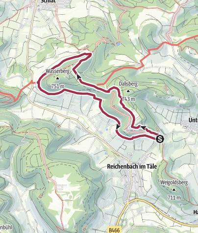 """Karte / Löwenpfad """"Orchideenpfad"""" - Kräuter, Küchenschelle und Wacholderheiden"""