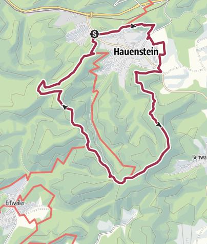 Map / Wanderfit - Hauensteiner Schusterpfad