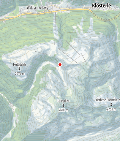 Karte / Wasserstuben Alpe
