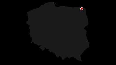 Mapa / Cyklo-výlet po přírodním parku Suwalki 1