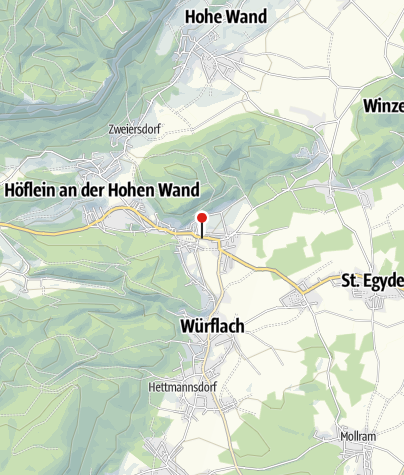 Karte / Bewegungsarena 5 Freunde im Schneebergland - Willendorf