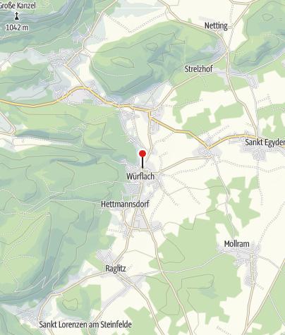 Karte / Bewegungsarena 5 Freunde im Schneebergland - Würflach