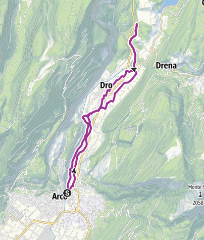 Map / 3.2. Cycling through the Sarca Valley: from Arco to Fies