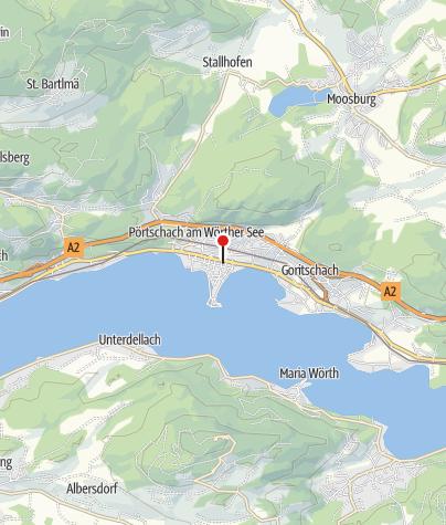 Karte / Bewegungsarena Pörtschach am Wörthersee
