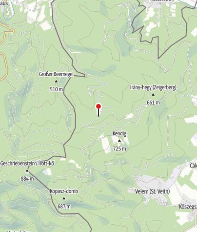 Térkép / Stájer-házi Erdészeti Erdei Iskola