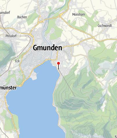 """Karte / BewegungsVarena Gmunden - """"im Gsperr"""""""