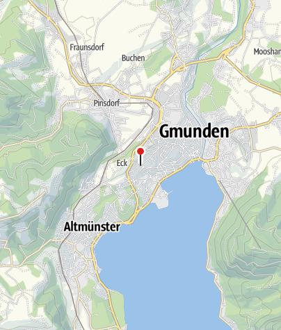 Karte / BewegungsVarena Gmunden - SKG Klinikum