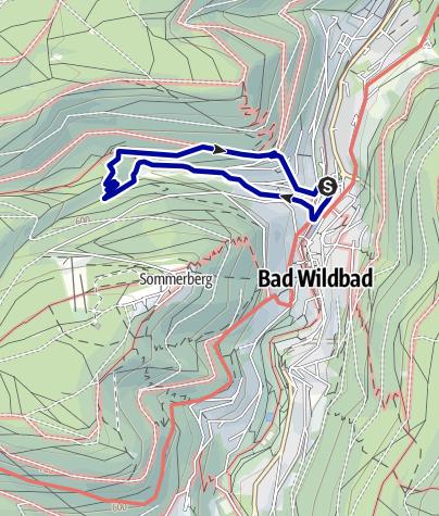 Karte / Spurensuche in Bad Wildbad