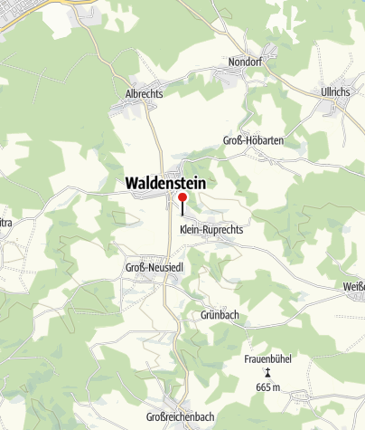 Mapa / Camping Waldenstein