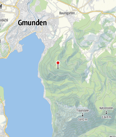 Karte / BewegungsVarena Gmunden - Grünberg Gipfel