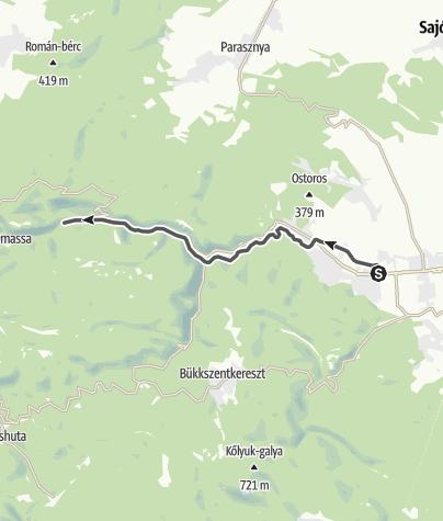 Mapa / Lillafüredi erdei vasút