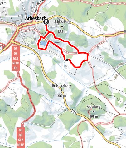 Map / Teddybärentrail Arbesbach