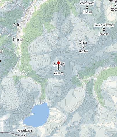 Karte / Saulakopf