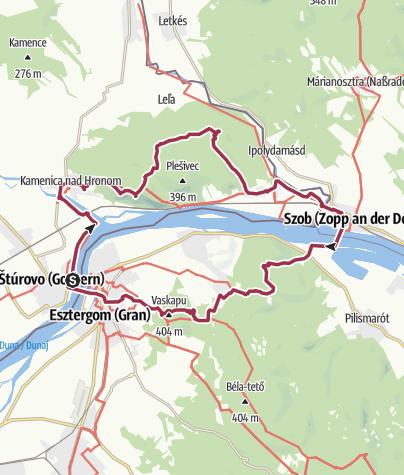 Mapa / A Burdától a Visegrádi-hegységig (Bazilika-Burda tt 40)