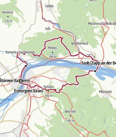 Karte / A Burdától a Visegrádi-hegységig (Bazilika-Burda tt 40)