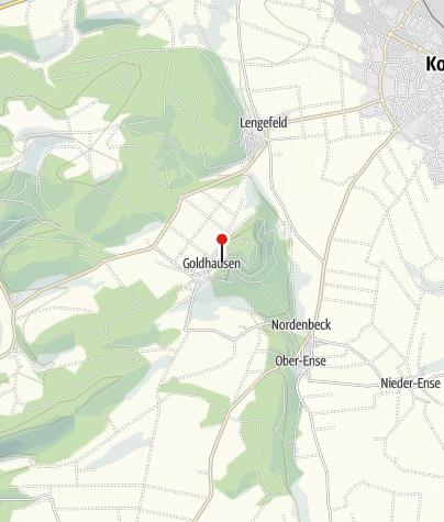 Kaart / km 114 / DGH Goldhausen / Verpflegung+Wechselkleiderstation+Ruhestation