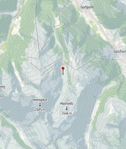 Karte / Alpe Nova