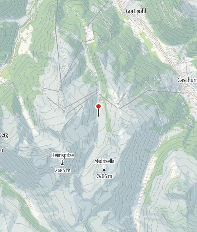 Kaart / Alpe Nova