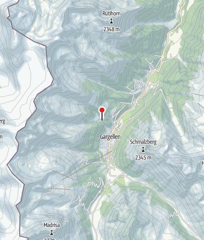 Karte / Alpe Rongg